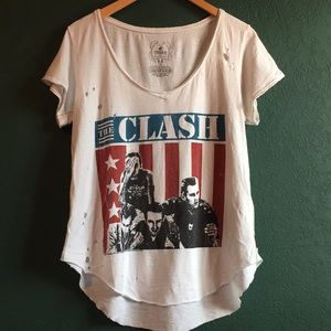 The Clash Concert Graphic Tee